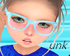 Unks Blue Kids glasses