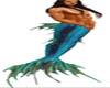 Blue Fantasy Merman tail