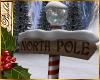 I~North Pole Sign