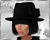 Black hair & Cap