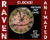 VINTAGE CUPCAKE CLOCK V2