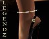 Diamond/Gold Anklet