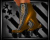 Bronze PVC Affair Boots