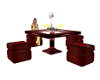 JD Red Kitchen Set