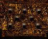Egyptian Candle Wall