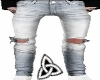Blue jeans Ripped