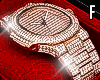 Rose Gold Diamond Watch