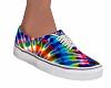 Skater Kicks Tie-Dye