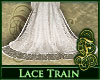 Bridal Lace Train