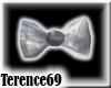69 Bow Tie - Silver