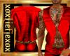 [L] Red vest Basic M