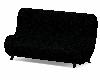 ~S~Black Velvet Couch