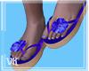 ᘎК~Purple Sandals