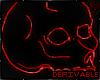 !VR! Neon Strange Skull