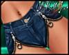 *BS*Open Zipper Short RL