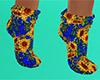 Sunflower Sock Short 2 F