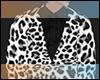 White Leopard Coat