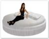 Round White Chat Lounge