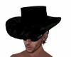 Cowboy Black Fur Hat