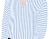 e stripe jammie shirt