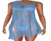Blue-Bikini & Wrap