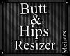 90% Smaller Hips & Butt