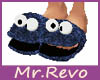 Slippers Cookie Monster