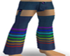 Rainbow Jean Chaps