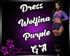 Dress Wolfina Purple GA