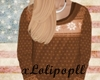 . Sweater in brown