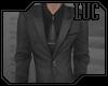 [luc] dark silver suit j