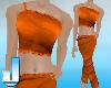 Orange Meditation Suit