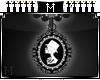 : M : Cameo skeleton