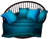 COUPLE BLUE RELAX CHAIR