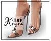 #K. Clear Black Heels