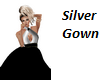 Black and Silver Gown