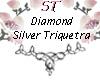 ST}DiamondSilverTriquet