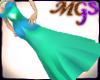 MG Elegant green dress
