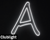 Letter A | Neon