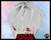 White Shiny Hair