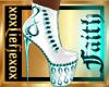 [L] FAITH White Boots F