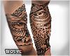 Owl Dynamic Tattoo