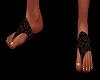 Summer sandles brown