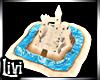 Spring Kid Sand Castle