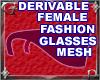Fem Fashion Glasses Mesh