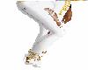 (goto) white/gold boots