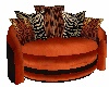 Animal Print Tiger Chair
