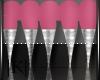 Pink/Sliver Tips 💋