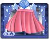 :0: Tegan Pink Skirt