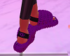 Ugg Fluffy Slides Purple